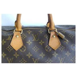 Louis Vuitton-Speedy 40-Marron
