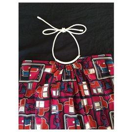 Hermès-Dos nu-Multicolore