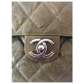 Chanel-Classic-Green,Dark green