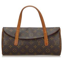 Louis Vuitton-Sonatine Louis Vuitton Brown Monogram-Marron
