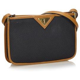 da3fa058daf Yves Saint Laurent, YSL Black Printed Crossbody Bag