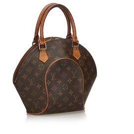 Louis Vuitton-Louis Vuitton Brown Monogram Ellipse PM-Brown