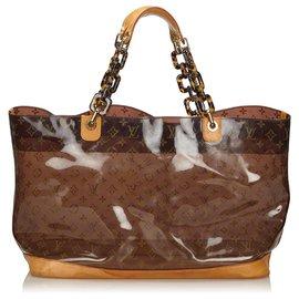 Louis Vuitton-Louis Vuitton Brown Sac Ambre GM-Brown