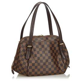 Louis Vuitton-Louis Vuitton Brown Damier Belem MM-Brown
