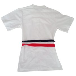 Topshop-Tops-White,Red,Navy blue