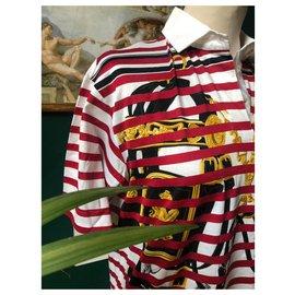 "Hermès-""Brides de Gala"" polo shirt Hermès-White,Red,Multiple colors"