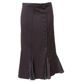 Balenciaga-Skirts-Brown