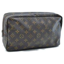 Louis Vuitton-Louis Vuitton Trousse Toilette-Brown