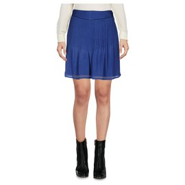 Hoss Intropia-Skirts-Navy blue