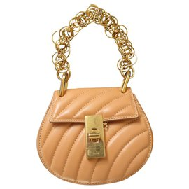 Chloé-Chloé Drew Shoulder Bag-Caramel