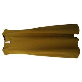 American Apparel-Dresses-Mustard