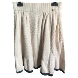 Chanel-Chanel skirt-Beige
