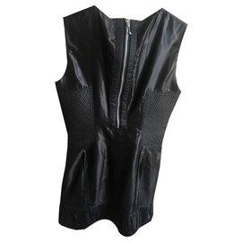 Burberry-Burberry parade dress-Black