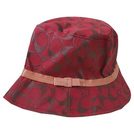 Coach-Hats-Multiple colors,Coral