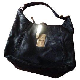 Michael Kors-shoulder bag Kors-Navy blue