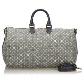 Louis Vuitton-Louis Vuitton Monogram Gris Idylle Speedy Voyage 45-Gris