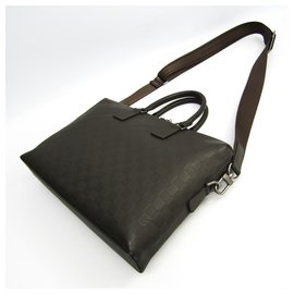 Louis Vuitton-Louis Vuitton Brown Damier Infini Porte-Documents Jour-Brown,Dark brown