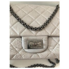 Chanel-Reissue-Grey,Eggshell
