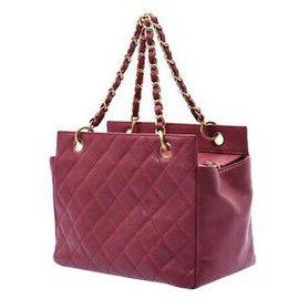 Chanel-Chanel Matelasse Tote Bag-Purple