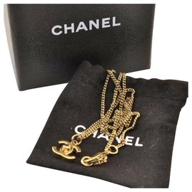 Chanel-Chanel CC Logo Chain-Golden