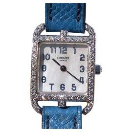 Hermès-CAPE COD GOLD AND DIAMONDS-Blue