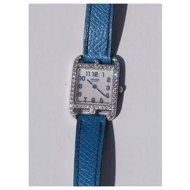 Hermès-CAPE COD OR ET DIAMANTS-Bleu