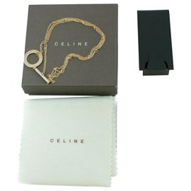 Céline-Celine necklace-Silvery