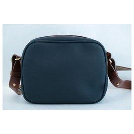 Burberry-Burberry Nova Check Shoulder Bag-Blue