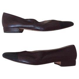 Chanel-chanel escarpins-Marron