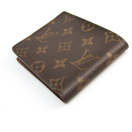 Louis Vuitton-Louis Vuitton Brown Monogram Multiple Wallet-Brown