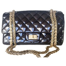 Chanel-Chanel 2.55-Navy blue