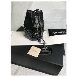 Chanel-Limité avec boîte,carte,dustbag supermarché défilé de mode-Noir