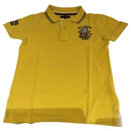 Tommy Hilfiger-Polo for boys-Yellow