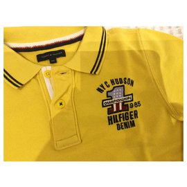Tommy Hilfiger-Polo für Jungen-Gelb