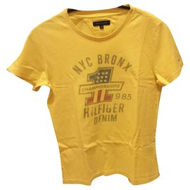 Tommy Hilfiger-T-shirt for boys-Yellow