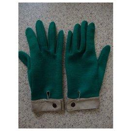 Autre Marque-Gloves-Dark green