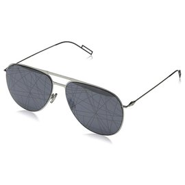 Dior-Dior sunglasses aviator mirrored lenses-Grey