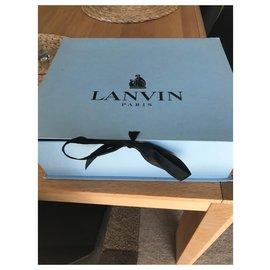 Lanvin-Sandale Lanvin-Noir