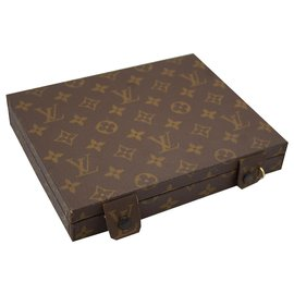 Louis Vuitton-Sac de voyage-Marron