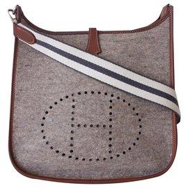 Hermès-Hermes bag Evelyne Amazone-Grey