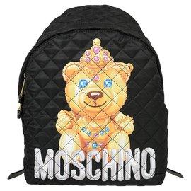 Moschino-Moschino backpack new-Black