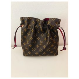 Louis Vuitton-Poche Noe-Marron,Multicolore