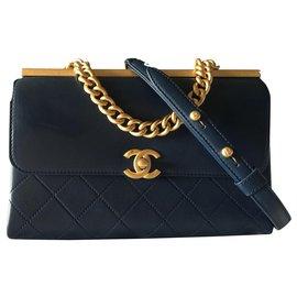 Chanel-Coco luxe-Bleu Marine