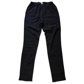 Hermès-Hermès trousers-Black