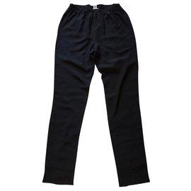 Hermès-Pantalon Hermès-Noir