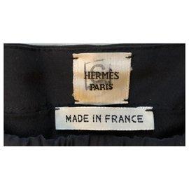 Hermès-Hermès trousers-Black