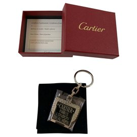 Cartier-Cartier key ring-Silvery
