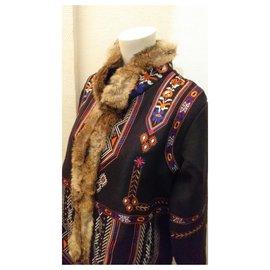 Antik Batik-Coats, Outerwear-Black