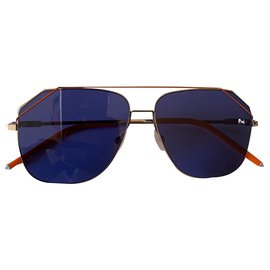 Fendi-Fendi sunglasses fa m043/s new-Silvery,Blue,Orange