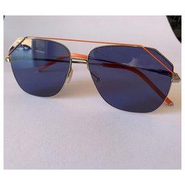 Fendi-Fendi sunglasses fa m043/s new-Silvery,Blue,Orange